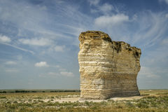 Monument Rocks National Natural Landmark Royalty Free Stock Image