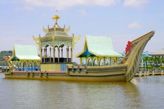 Monument of Royal Barge Stock Image