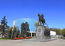Monument of Russian military leader Mikhail Kutuzov Stock Images