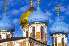The monument of architecture - the Kremlin stock images