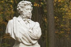 Monument of A.S.Pushkin Royalty Free Stock Photo