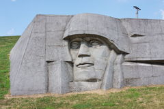 A monument is sacred to great patriotic war Royalty Free Stock Image