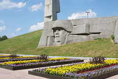 A monument is sacred to great patriotic war Royalty Free Stock Photos