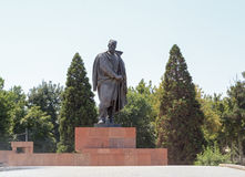 Monument Sadriddin Aini. Dushanbe, Tajikistan Royalty Free Stock Photography