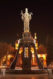 Monument of Saint Catherine in Krasnodar, Russia Royalty Free Stock Photo