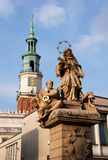 Monument of saint Jan Nepomucen Royalty Free Stock Photography