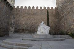 Monument of Saint Teresa of Avila, Avila Stock Images