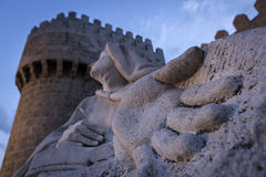 Monument of Saint Teresa of Avila Royalty Free Stock Images