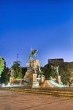 monument san för airesbuenosgeneral martin Arkivbild