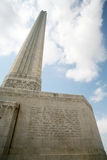 Monument - San Jacinto Stock Photo