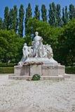 Monument for Sandor Petofi in Bratislava, Slovakia Royalty Free Stock Photography