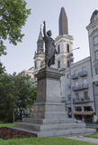 Monument Sandor Petofi in Budapest Stock Photo