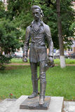 Monument of Sandor Petofi in Uzhhorod, Ukraine Stock Photo