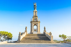 Monument of Sant Salvador Stock Photos