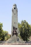 Monument in Santiago Stock Photography