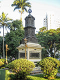 Monument Sao Vicente Brazil Stock Photo