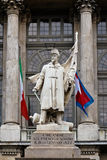 Monument for the sardinian against the milan army Stock Images