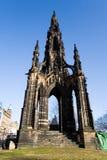 monument scott Arkivfoto