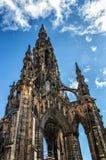 monument scott Royaltyfria Bilder