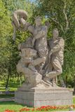 Monument on Mamaev Hill in Volgograd. Monument of Second World War Royalty Free Stock Photo