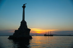 Monument in Sevastopol Stock Image