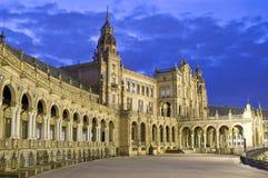Monument in Sevilla stock foto's