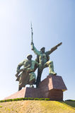 Monument in Sewastopol Stockbild