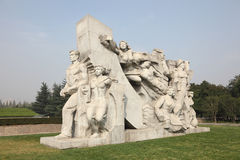 Monument in Shanghai, China Royalty Free Stock Image