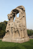 Monument in Shanghai, China Stock Images