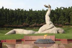 Monument in Shanghai, China Stock Photo