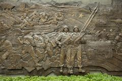 Monument in Shanghai, China Royalty Free Stock Images