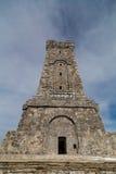 Monument Shipka in Balkan mountain Royalty Free Stock Photo