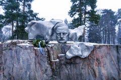 Monument of Sibelius in Helsinki Stock Photography