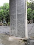 Monument of sichuan academy of fine arts royalty free stock photography