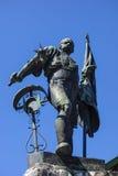 Monument Smith of Kochel, Bavaria Royalty Free Stock Photo