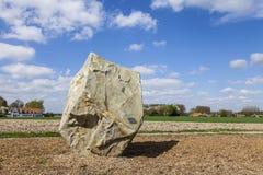 Monument som är hängiven till Paris Roubaix Royaltyfria Bilder