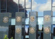 Monument som hedrar som utförs av 1916 Royaltyfri Foto