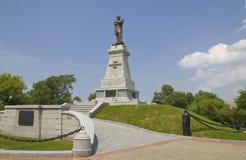 Monument som räknar Muraviev-Amursky Fotografering för Bildbyråer