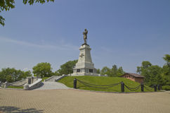 Monument som räknar Muraviev-Amursky Royaltyfri Fotografi