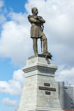 Monument som räknar Muravyov-Amursky Arkivfoton