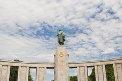 Monument soviétique de soldat Images libres de droits