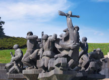 Monument of Soviet liberators Royalty Free Stock Photos