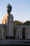 Monument of the Soviet soldier Stock Image