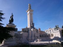 Monument of the Spanish constitution of 1812 Royalty Free Stock Photo