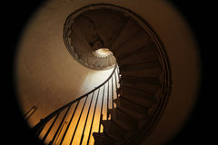Monument spiral staircase Stock Images