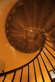 Monument spiral staircase Royalty Free Stock Image