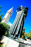 Monument in Split dedicated to Ivan Mestrovic Royalty Free Stock Photography