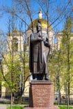 Monument of St. knyaz Alexander Nevsky Royalty Free Stock Photography