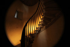 Monument staircase Royalty Free Stock Images