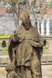 Monument of Stanislaus of Szczepanow, polish bishop Royalty Free Stock Photography